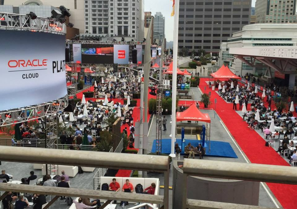 Oracle OpenWorld 2015 Recap – The Forecast Includes Clouds and a Better WebCenter User Experience