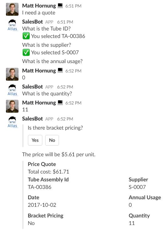 SalesBot - Fishbowl Solutions