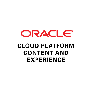 Oracle Cloud Platform Content and Experience (OCE) logo